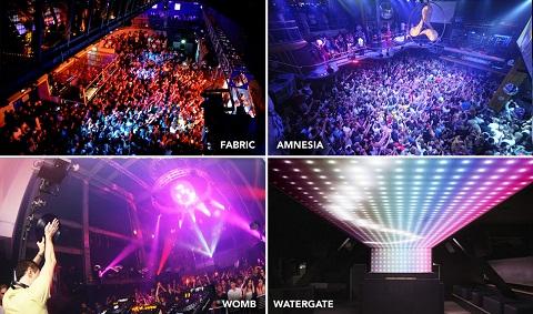 10 mejores discotecas: